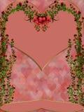 Sobre rosas Fotografía de archivo libre de regalías