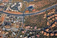 Sobre Sedona, o Arizona imagens de stock