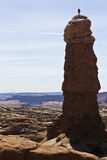 Sobre a torre Imagem de Stock Royalty Free