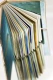 Sobre un libro Imagenes de archivo