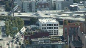 Sobre una ciudad grande - lapso de tiempo - día - San Francisco - clip 4 almacen de video