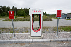 Sobrealimentador de Tesla Imagen de archivo