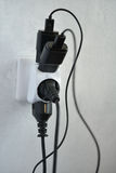 Sobrecarga eléctrica Fotografía de archivo libre de regalías