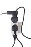 Sobrecarga eléctrica Fotografía de archivo