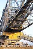 Sobrecarregar a ponte do transporte fotografia de stock