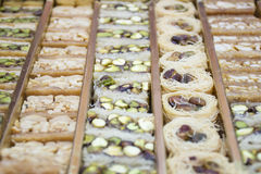 Sobremesa árabe Foto de Stock