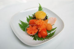 Sobremesa asiática Fotografia de Stock Royalty Free
