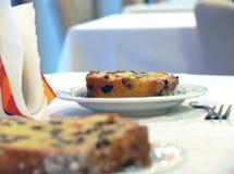 Sobremesa - bolo Imagem de Stock Royalty Free
