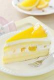 Sobremesa - bolo alaranjado Imagem de Stock