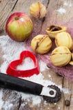 Sobremesa caseiro da farinha Imagens de Stock Royalty Free
