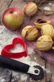 Sobremesa caseiro da farinha Foto de Stock Royalty Free