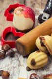Sobremesa caseiro da farinha Fotografia de Stock Royalty Free