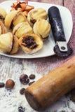 Sobremesa caseiro da farinha Foto de Stock