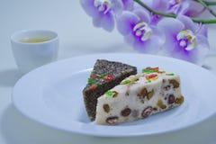 Sobremesa chinesa Imagens de Stock