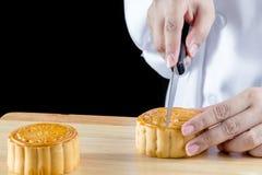 Sobremesa chinesa Imagens de Stock Royalty Free