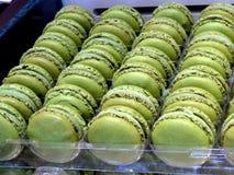 Sobremesa coloful de Macaron Foto de Stock