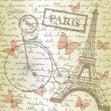 Sobremesa con bosquejar el papel y la bicicleta Foto de archivo