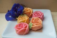 Sobremesa cor-de-rosa tailandesa do aalaw Imagens de Stock