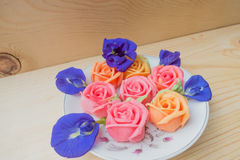 Sobremesa cor-de-rosa tailandesa do aalaw Foto de Stock Royalty Free