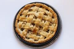 Sobremesa cozida da torta de Apple fotografia de stock royalty free