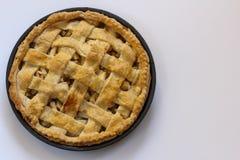 Sobremesa cozida da torta de Apple imagens de stock