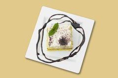Sobremesa cremosa Fotografia de Stock Royalty Free