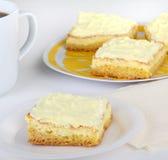 Sobremesa da barra do limão imagens de stock royalty free