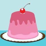 Sobremesa da cereja Imagens de Stock Royalty Free