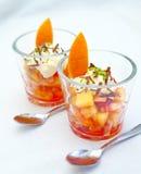 Sobremesa da fruta Foto de Stock