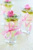 Sobremesa da geleia Fotos de Stock Royalty Free