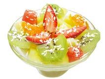 Sobremesa da morango Foto de Stock Royalty Free