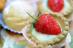 Sobremesa da morango Foto de Stock