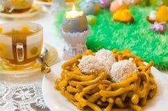 Sobremesa da páscoa judaica Fotografia de Stock Royalty Free