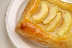 Sobremesa da pastelaria de sopro de Apple fotografia de stock royalty free
