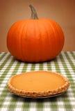 Sobremesa da torta de abóbora Imagens de Stock Royalty Free