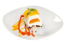 Sobremesa de Cake.sweet fotografia de stock royalty free