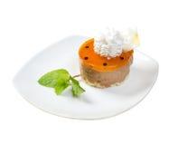 Sobremesa de Cake.sweet fotografia de stock