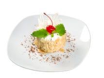 Sobremesa de Cake.sweet. imagens de stock