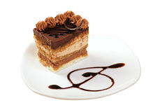 Sobremesa de Cake.sweet. imagem de stock royalty free