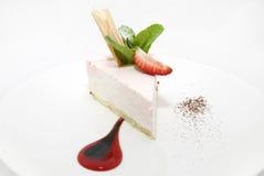 Sobremesa de creme Fotografia de Stock Royalty Free