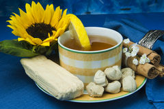 Sobremesa de Equador Imagens de Stock