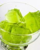 Sobremesa de gelatina Imagem de Stock