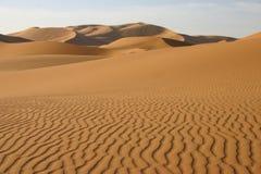 Sobremesa de Sahara - Marrocos Imagem de Stock Royalty Free