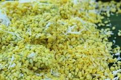 Sobremesa de Tailândia - banana, abóboras, milho, feijões de soja, descarga doce Fotos de Stock Royalty Free
