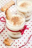 Sobremesa de Tiramisu Imagens de Stock Royalty Free