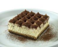 Sobremesa de Tiramisu Imagem de Stock