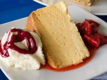 Sobremesa de Tres Leches Fotografia de Stock Royalty Free
