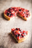 Sobremesa deliciosa da galdéria do fruto Foto de Stock