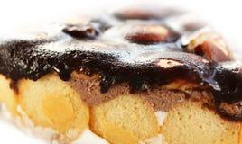 Sobremesa do biscoito da esponja Imagem de Stock Royalty Free
