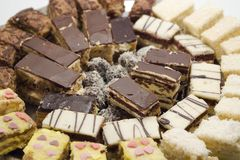 Sobremesa do bolo Fotografia de Stock